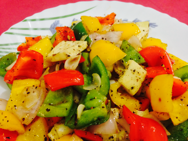 Instant Stir Fried Vegetables